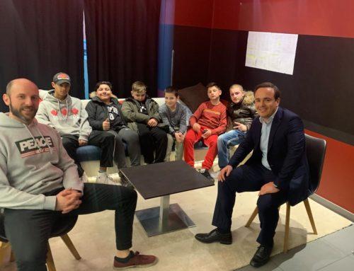 Spendenübergabe an den Kinder- und Jugendtreff Hasenbergl