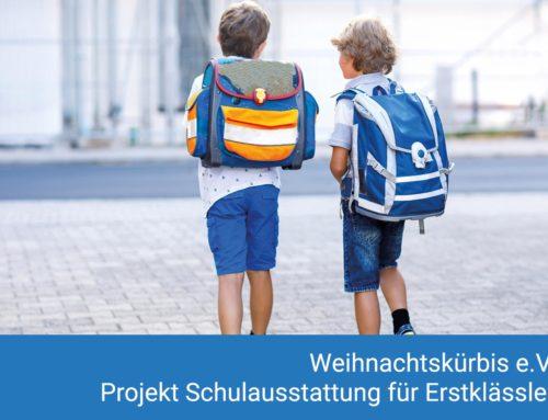 Projekt Schuleinsteiger des Weihnachtskürbis e. V.