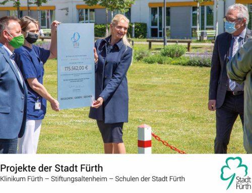Unterstützung für Projekte der Stadt Fürth