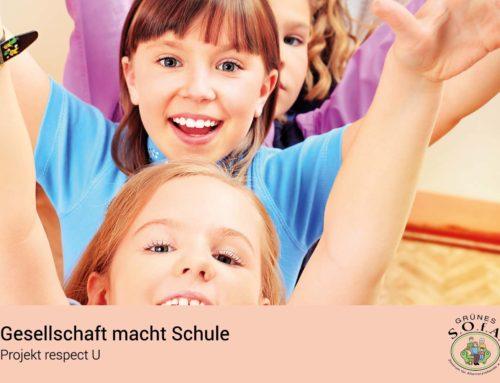15.000 € für das Projekt Gesellschaft macht Schule