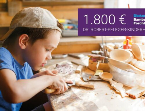 Kinderwerkbänke für den Dr. Robert-Pfleger-Kinderhort Bamberg