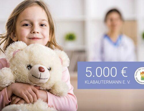 5.000 EUR für den Klabautermann e. V.