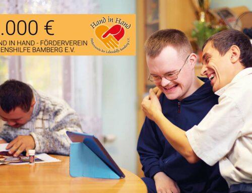 Unterstützung der Lebenshilfe Bamberg