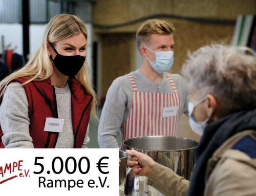 5.000 € für den Verein Rampe e.V.