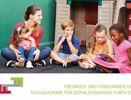 800 € für den Freundes- und Förderkreis der Fachakademie für Sozialpädagogik Fürth e.V.